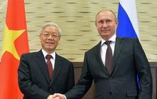 Tổng Bí thư, Chủ tịch nước Nguyễn Phú Trọng trao đổi điện mừng với Tổng thống Putin