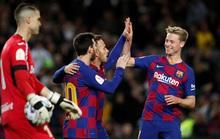 Barcelona đại thắng Leganes, Messi cứu ghế HLV Quique Setien