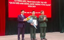 """19 tác phẩm đoạt giải Cuộc thi viết """"Quân đội anh hùng, quốc phòng vững mạnh"""""""