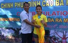 Chân chạy số 1 Việt Nam lên ngôi Nữ hoàng leo núi Bà Rá