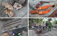 Bị vây bắt, nhóm trộm chó liều lĩnh chém bị thương 2 sĩ quan công an