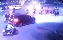 Gần 20 thanh, thiếu niên cầm đao, kiếm lao vào hỗn chiến kinh hoàng trên phố