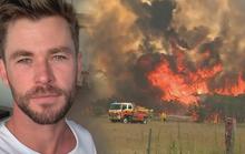 Thần sấm Chris Hemsworth quyên 23 tỉ đồng khắc phục cháy rừng ở Úc