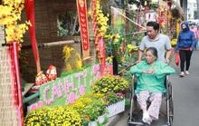 Có một đường hoa đặc biệt trong Bệnh viện Chợ Rẫy
