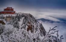 Tiên cảnh đậm chất kiếm hiệp trên núi Nga Mi mùa đông