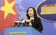 Người phát ngôn lên tiếng về thông tin tàu hải cảnh Trung Quốc di chuyển về vùng biển Việt Nam