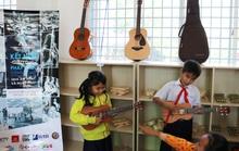 Không gian âm nhạc tại trường tiểu học vùng xa