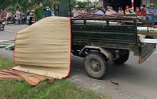Tông xe ba gác chở tôn, bé gái 13 tuổi ở Củ Chi tử vong tại chỗ