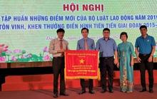 LĐLĐ TP Đà Nẵng nhận Cờ thi đua của Chính phủ