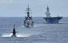 Nhóm tàu chiến Nhật Bản tập trận chống ngầm ở biển Đông