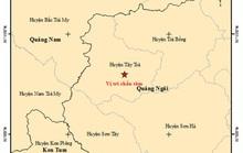 Bất thường với 4 trận động đất xảy ra trong một ngày ở Quảng Ngãi