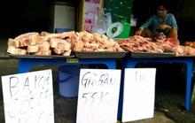 Thịt heo đông lạnh giá siêu rẻ xuống đường