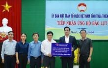 Vietravel ủng hộ 1 tỉ đồng, san sẻ khó khăn với người dân vùng lũ Thừa Thiên - Huế
