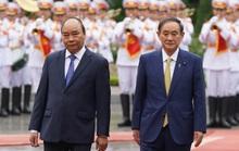 Thủ tướng Nguyễn Xuân Phúc chủ trì lễ đón Thủ tướng Nhật Bản