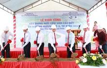 Khởi công cầu Vàm Cái Sứt thuộc Hương Lộ 2, TP Biên Hòa