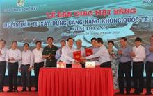 Giao 2.589 ha đất để xây sân bay Long Thành