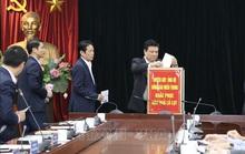 Hội nghị giao ban báo chí quyên góp ủng hộ đồng bào miền Trung bị mưa lũ