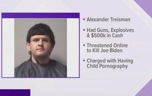 Thanh niên 19 tuổi chất đầy súng, thuốc nổ lên xe để ám sát ông Biden