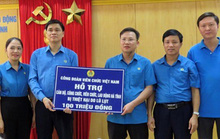Đoàn viên - lao động cả nước hướng về miền Trung