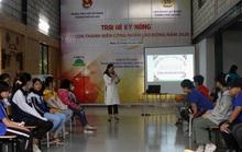 Hà Nội: Con công nhân hào hứng với trại hè kỹ năng