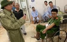 Quảng Bình: Bắt kẻ ngáo đá, chém đại úy công an nhập viện