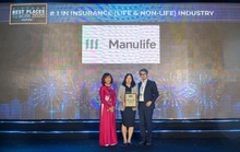 Manulife Việt Nam được vinh danh là nơi làm việc tốt nhất ngành bảo hiểm