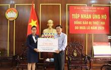 Đất Xanh Miền Trung ủng hộ 400 triệu đồng khắc phục lũ lụt tại miền Trung