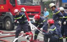 CLIP: Phương án giải cứu hàng trăm người kẹt trong đám cháy Tòa nhà Vietcombank Tower