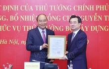 Thủ tướng trao quyết định bổ nhiệm cho ông Nguyễn Thanh Nghị