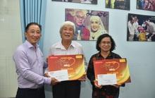 Mai Vàng nhân ái thăm NSƯT Ngọc Khanh và nghệ sĩ Tấn Thi