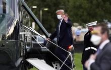 Tổng thống Trump xuất viện, lên trực thăng quay về Nhà Trắng