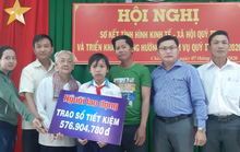 Mở sổ tiết kiệm gần 600 triệu đồng cho 3 anh em mồ côi ở Sóc Trăng
