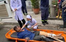CLIP: Giải cứu người rơi từ tầng cao ở khu dân cư Trung Sơn