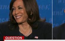 Twitter sôi sục vì khuôn mặt bà Harris, ruồi đậu trên tóc ông Pence