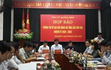 Hủy tư cách đại biểu 2 lãnh đạo bị đưa nhầm vào danh sách dự Đại hội Đảng bộ Quảng Bình