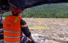 Sạt lở Trà Leng: Tạm ngưng tìm kiếm nạn nhân bằng đường thủy