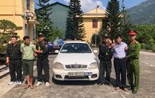 Bắt 2 người trên ôtô tập lái mang BKS 80A chở 30 bánh heroin