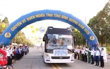 Bình Dương: Tổ chức Chuyến xe xuân nghĩa tình