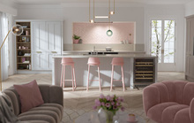 Những căn bếp mang tông màu hồng đầy cảm hứng