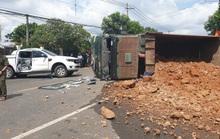 Tai nạn liên hoàn giữa xế hộp, xe ben và bán tải ở Bà Rịa - Vũng Tàu
