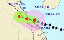 Tin khẩn cấp về bão số 13, miền Trung mưa lớn