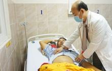 Người đàn ông bị tai nạn giao thông máu ngập cả ổ bụng
