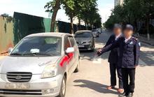 Nhóm bảo vệ xịt sơn đỏ lên hàng loạt xe ôtô bị khởi tố