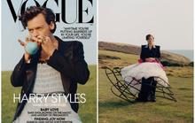 Tranh cãi dữ dội việc nam ca sĩ Harry Styles mặc đầm lên Vogue