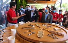 Nhà thu mua cà phê lớn nhất Việt Nam mở khu trải nghiệm cà phê ở Tây Nguyên