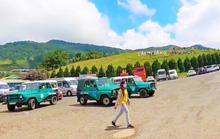 Lâm Đồng tạm đình chỉ xe U-oát quá đát chở khách ở Langbiang