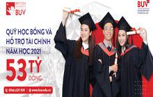 Trường Đại học Anh Quốc Việt Nam nâng giá trị quỹ học bổng và hỗ trợ tài chính lên 53 tỉ đồng