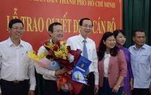 UBND TP HCM trao quyết định nhân sự chủ chốt quận Bình Thạnh