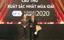 Văn Quyết đoạt giải cầu thủ xuất sắc nhất V-League 2020