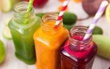 Nước ép trái cây sẽ giải độc cơ thể